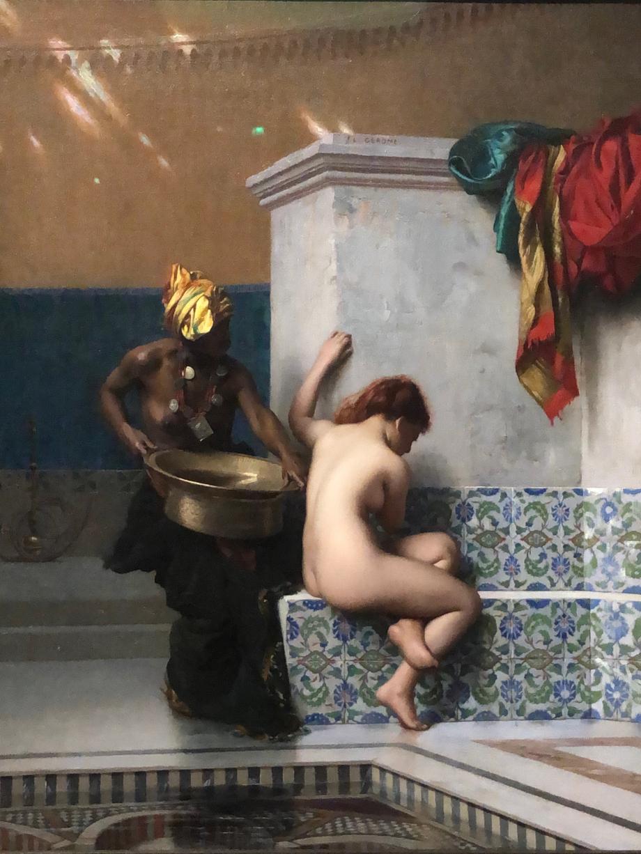 Jean-Léon Gérôme Bain turc dit aussi bain maure présenté à l'Exposition Universelle de Paris, 1878 Museum of Fine Arts, Boston