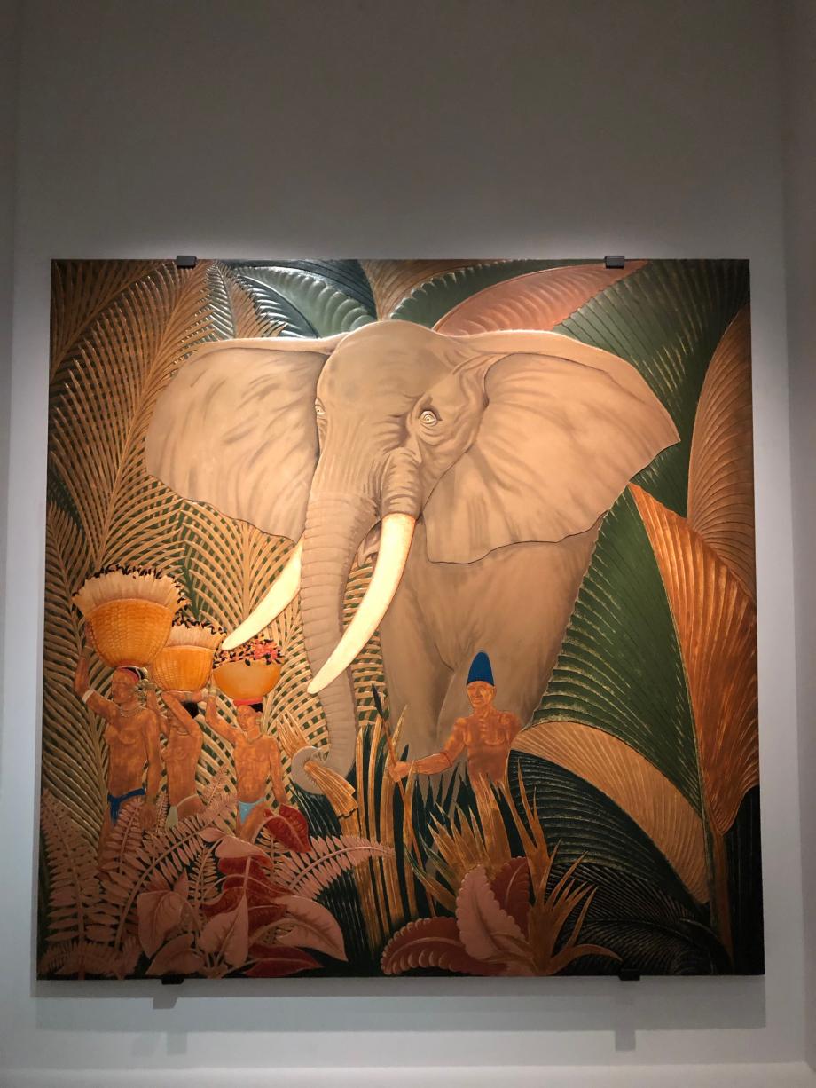 Jean Dunand Eléphant 1942 Musée du Quai Branly, Paris