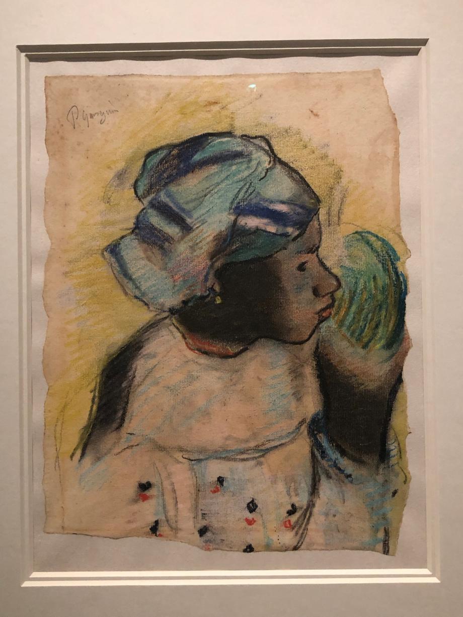 Paul Gauguin Tête de femme, Martinique 1887 Van Gogh Museum, Amsterdam