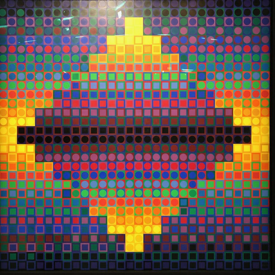 Lacoste W, 1969 Musée d'Art Contemporain, Marseille