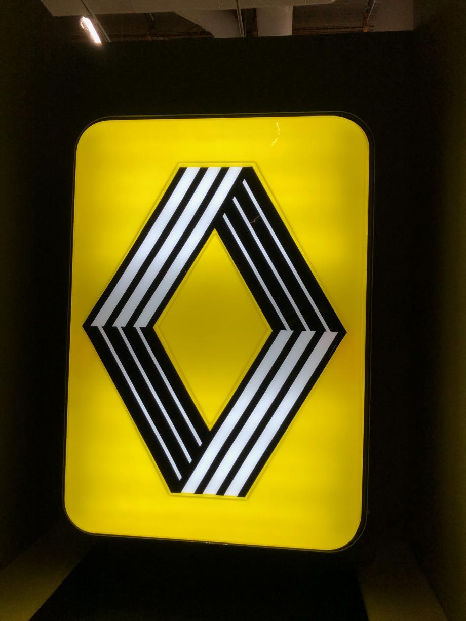 Logo Renault, 1972 Collection particulière