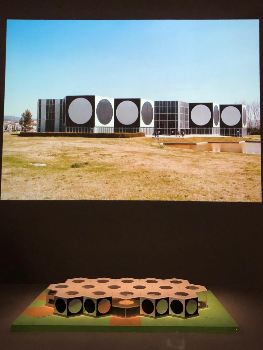 Projet du centre architectonique 1972