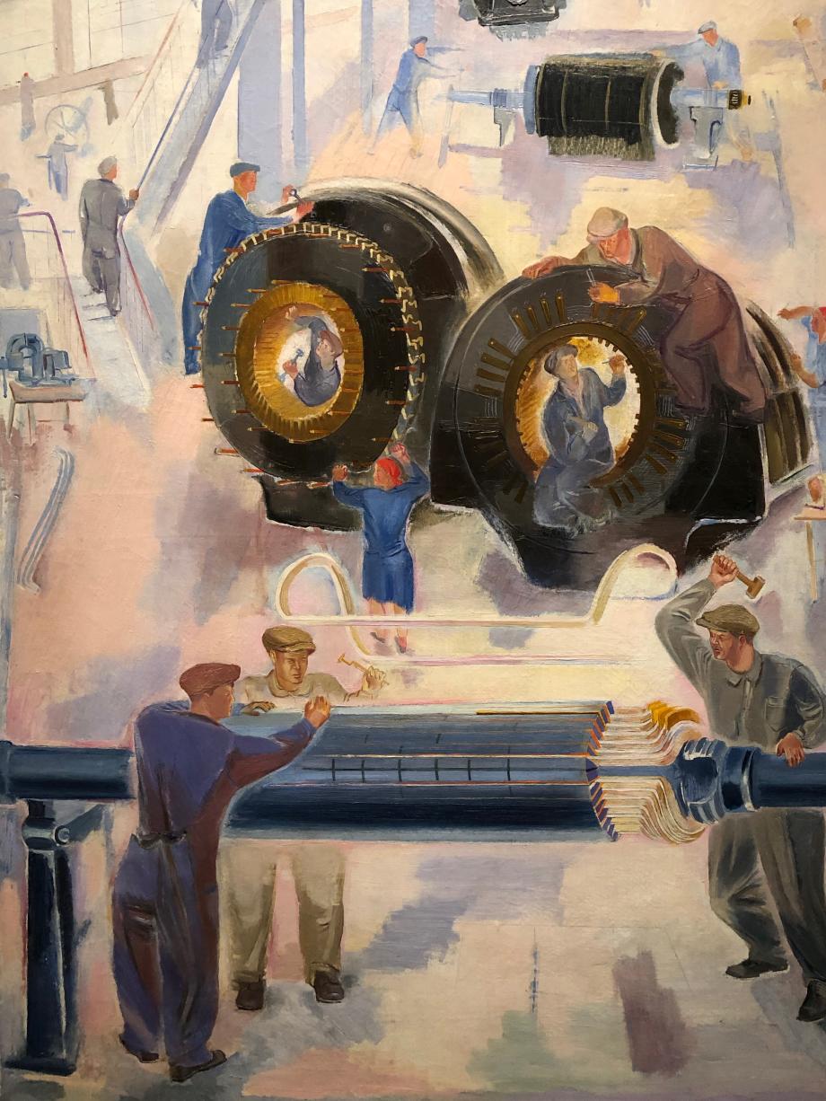 Viatcheslav Pakouline Carter de turboréacteur Saint Pétersbourg, musée d'état russe