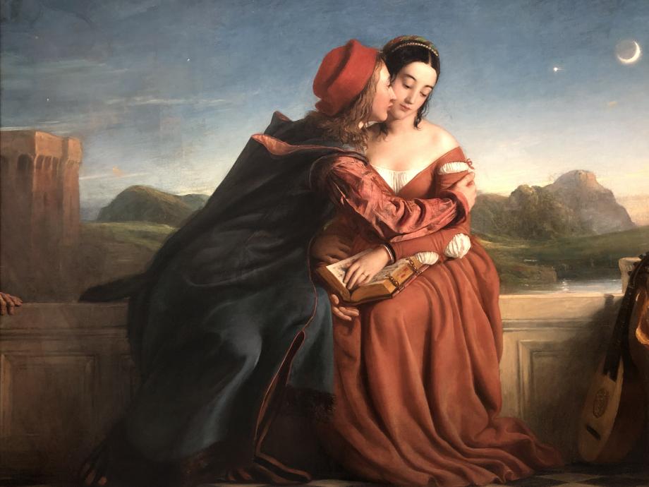 William Dyce Francesca da Rimini, 1837