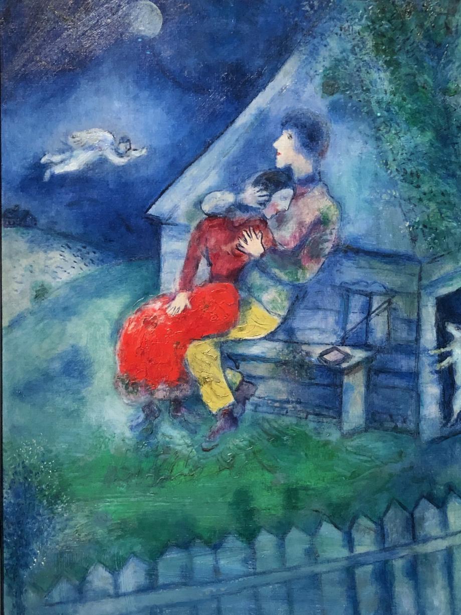 Marc Chagall Amoureux, 1929 Tel Avis, Tel Aviv Museum of Art