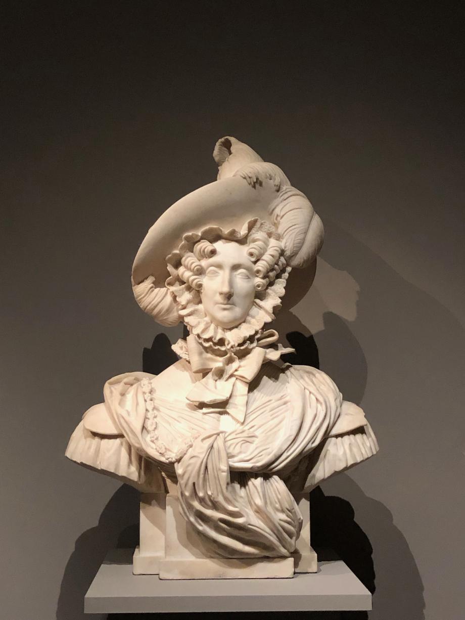 Antonin Moine Marie-Amélie, Reine des Français - 1833 D'origine sicilienne, la Reine était alors âgée de 45 ans et mère de 10 enfants.  Paris, Musée Carnavalet, Histoire de Paris