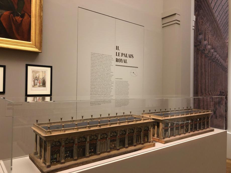 Maquettes du Palais-Royal