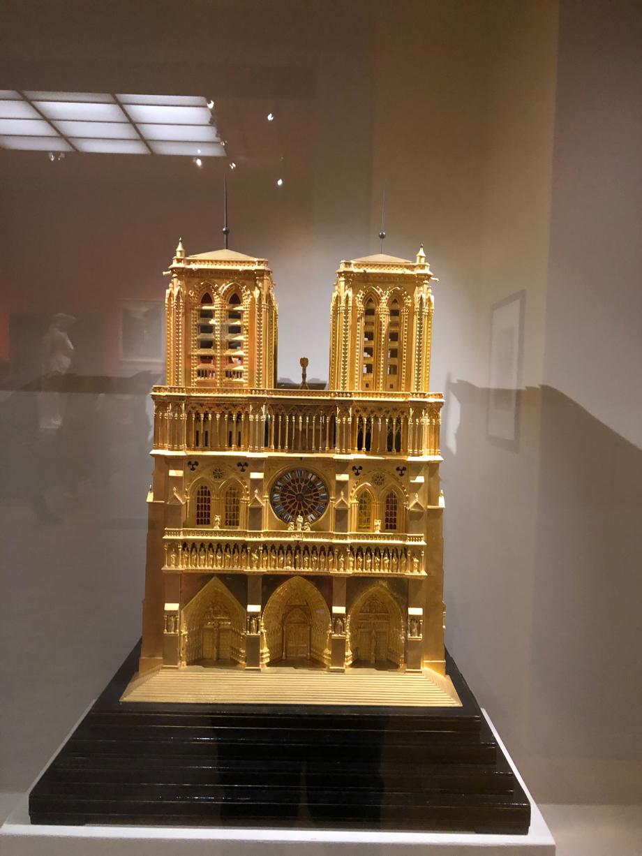 Attribué à Bavozet Frères et soeur, Pairis Pendule Notre-Dame vers 1835  Paris, Musée Carnavalet-Histoire de Paris