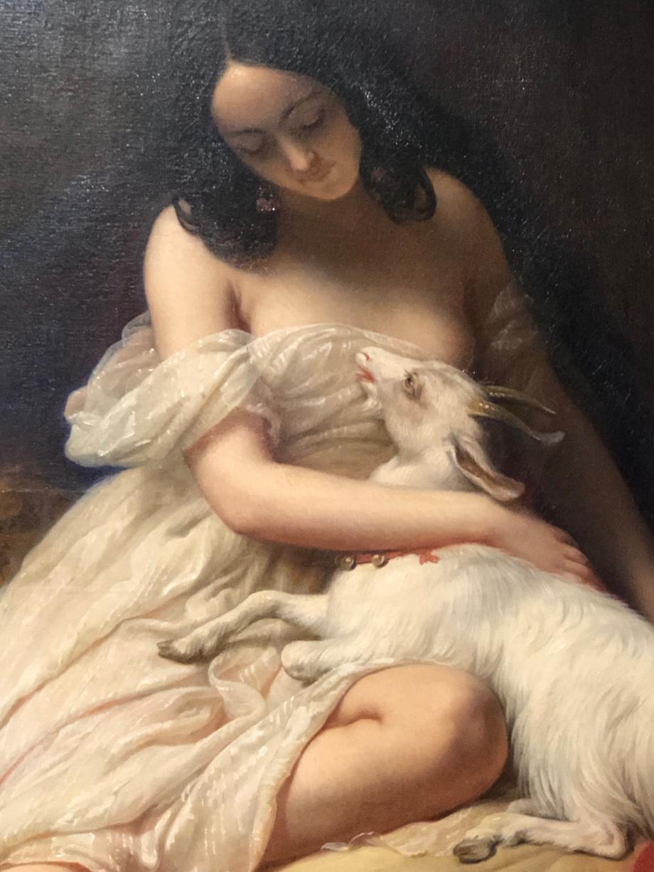 Charles Steuben La Esmeralda - 1839 Salon de 1839