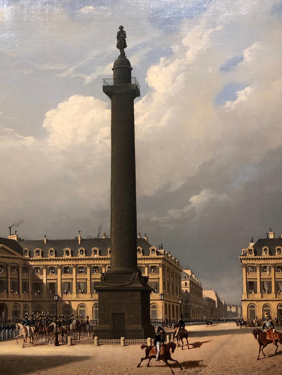 Carlo Canella Vue de la place Vendôme vers 1835  Paris, Musée Carnavalet-Histoire de Paris