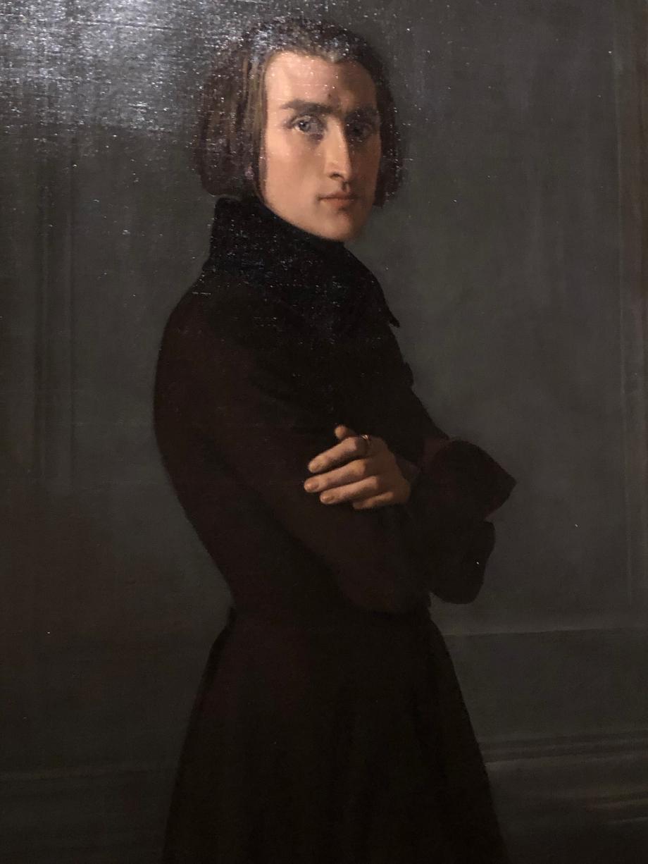 Henri Lehmann Franz Liszt pianiste et compositeur - 1839  Paris, Musée Carnavalet-Histoire de Paris