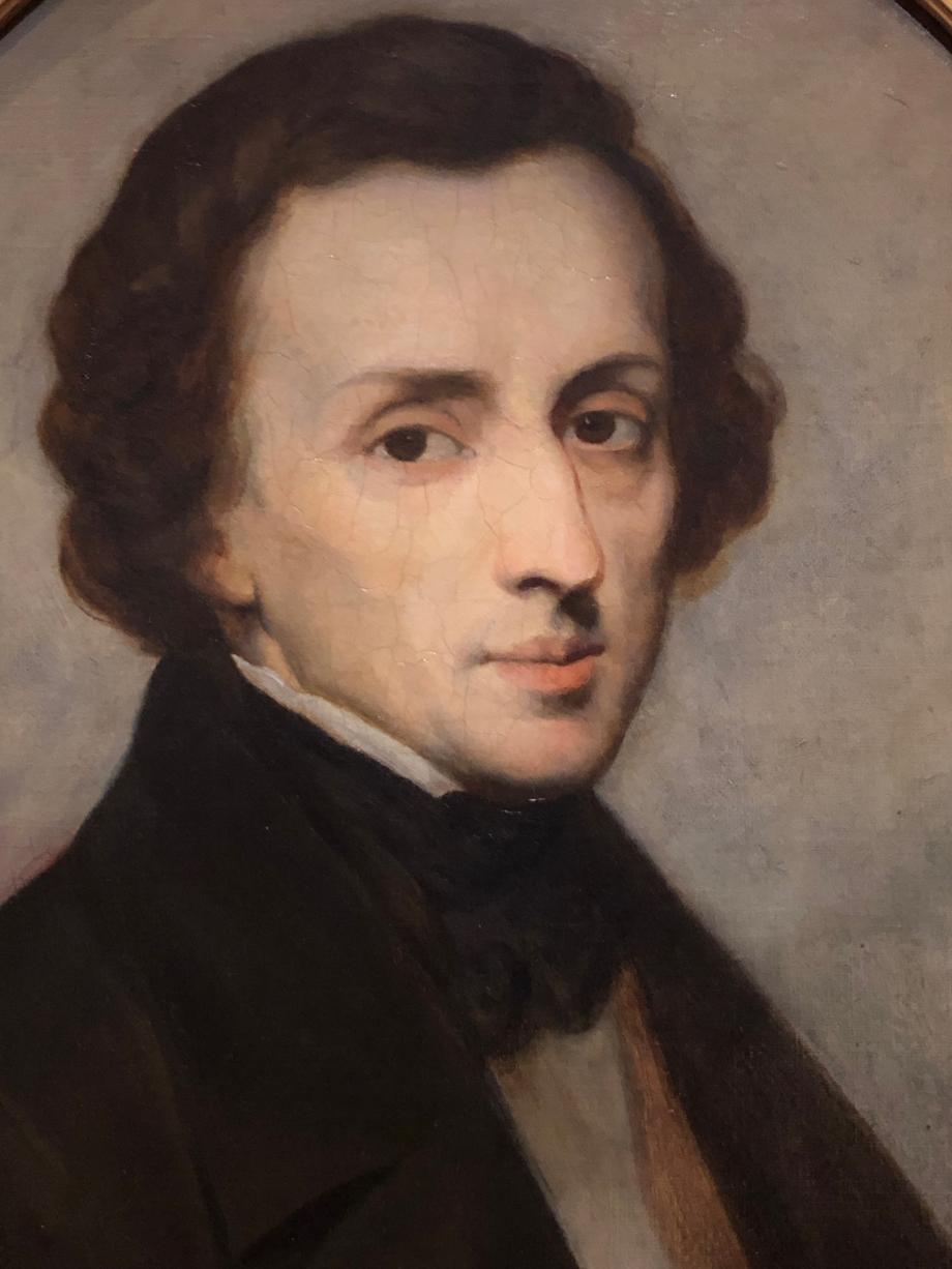 Ary Scheffer Frédéric Chopin, compositeur - 1849  Pays-Bas, Dordrecht, Dordrecht Museum