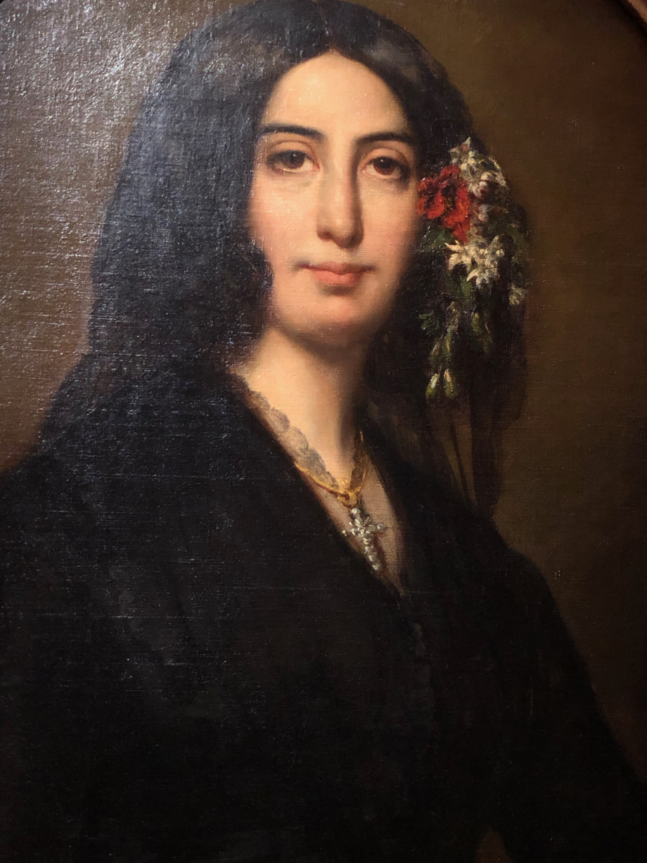 Auguste Charpentier George Sand - 1838  Paris, Musée de la vie romantique