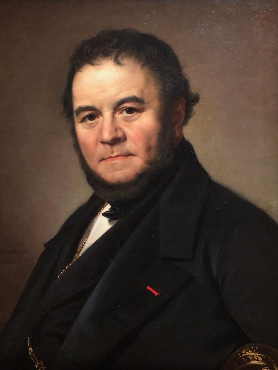Olof Södermark Henri Beyle dit Stendhal, romancier et journaliste - 1840  Versailles, musée national des châteaux de Versailles et de Trianon