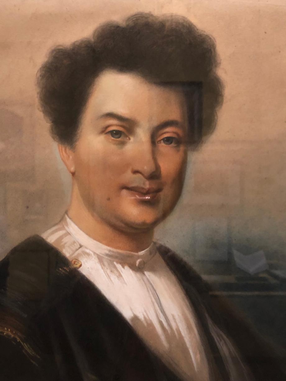 Eugène Giraud Alexandre Dumas vers 1842  Villers-Cotterêts, musée Alexandre Dumas