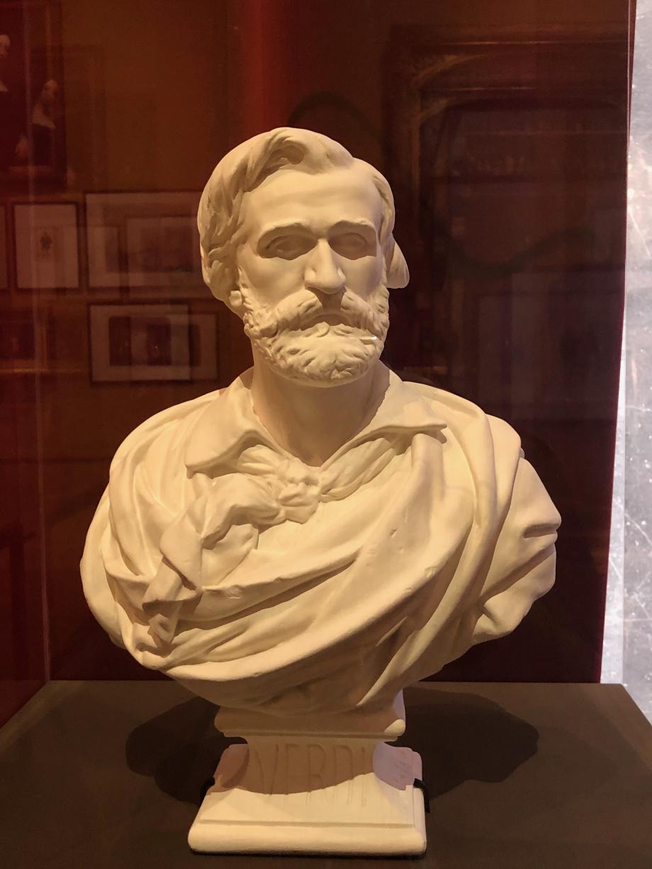 Jean-Pierre Dantan Giuseppe Verdi, compositeur - 1866  Paris, Musée Carnavalet-Histoire de Paris