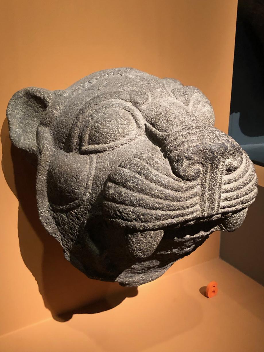 Tête de lion provenant de la base de la statue de Katuwa  Karkemish (Turquie), vers 925av JC Londres, British Museum