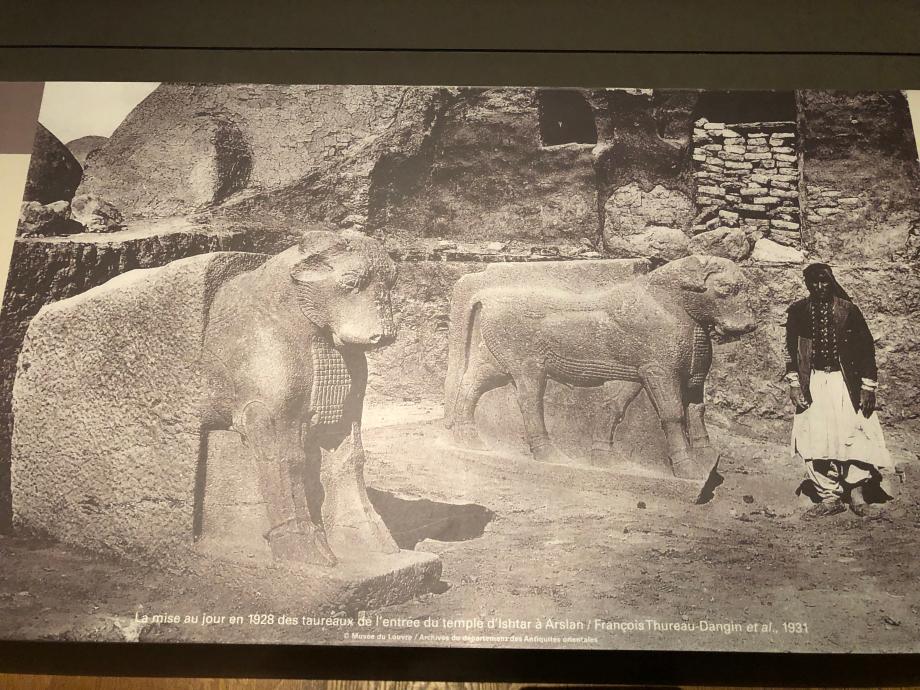 photo prise sur les fouilles en 1928