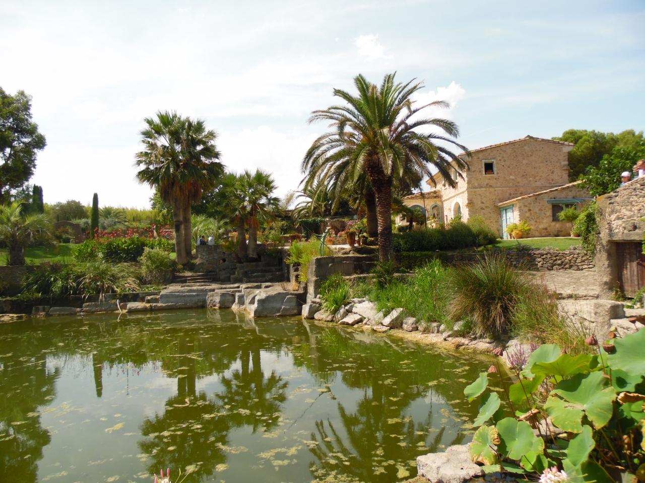 Le jardin de saint adrien servian 34 h rault les p r grinations de joce - Les jardins de saint adrien ...