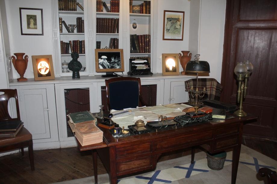 Le bureau de Maurice Leblanc