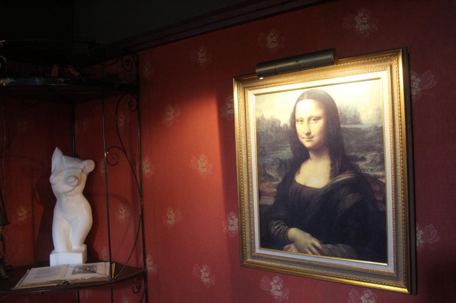 D'après Arsène Lupin le tableau du Louvre est une copie !!!!