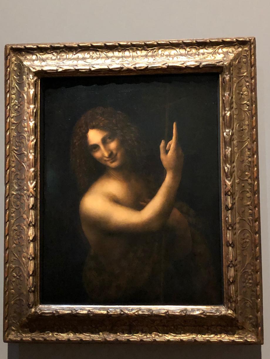 Léonard de Vinci Saint jean Baptiste vers 1508 1519 Paris, Musée du Louvre
