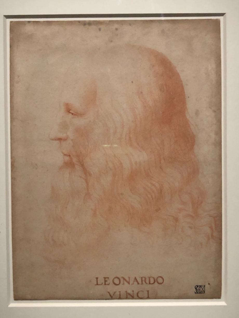 Attribué à Francesco Melzi Portrait de Léonard de Vinci vers 1515 1518