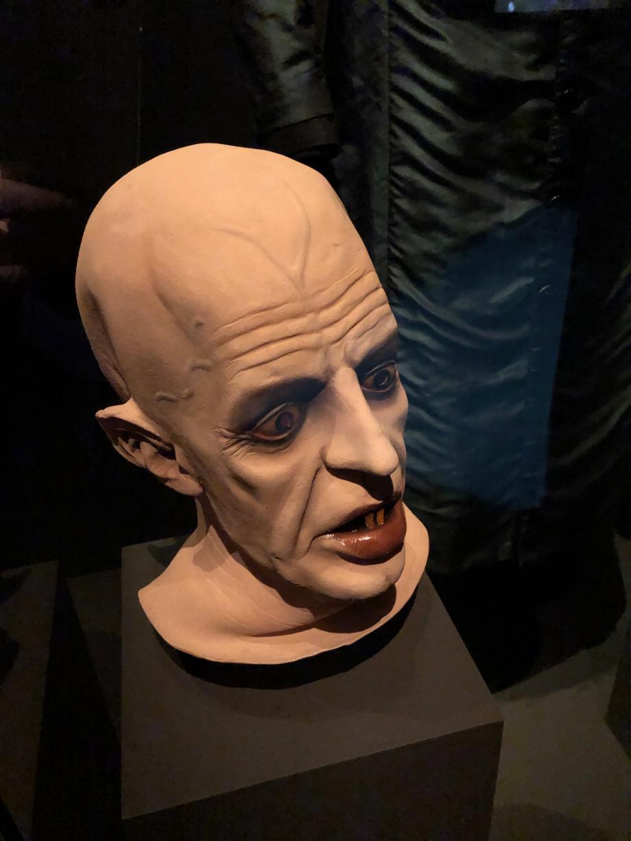 Masque de Klaus Kinski dans Nosferatu