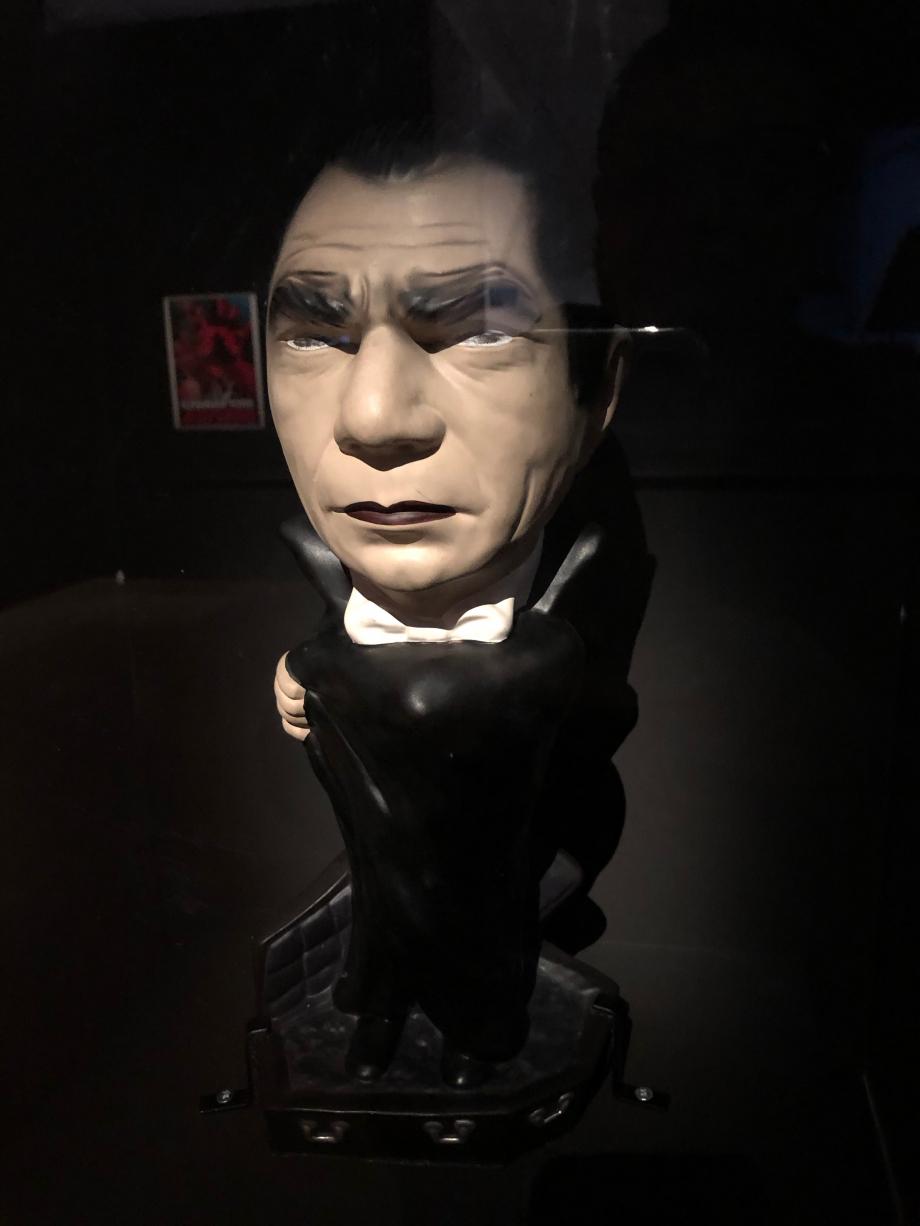 figurine de Bela Lugosi vers 1970