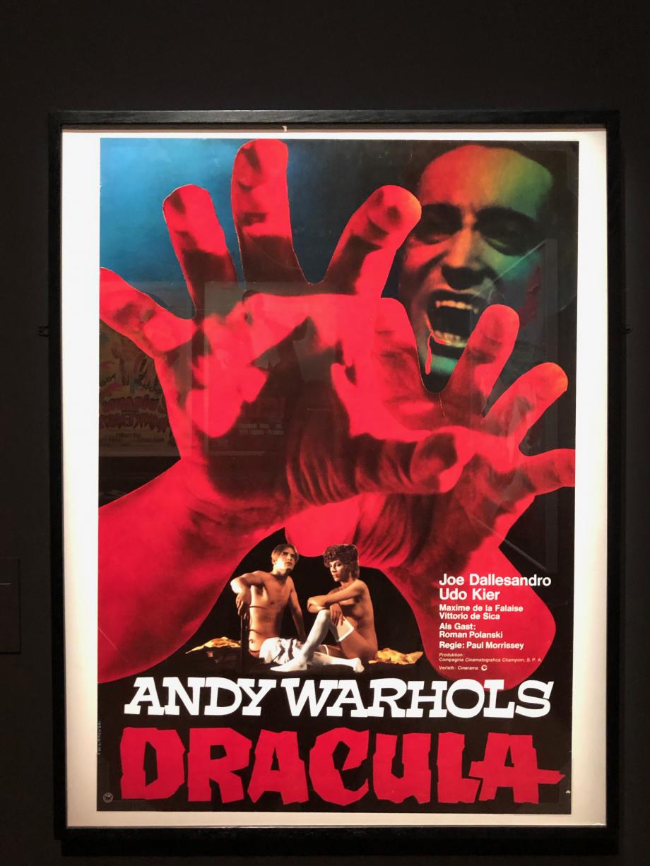 Affiche allemande de Du sang pour Dracula (ANDY wARHOLS dRACULA &çè'°