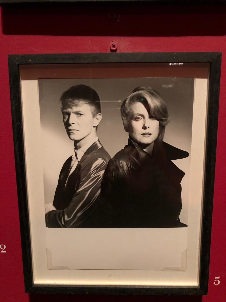 David Bowie et Catherine Deneuve dans Prédacteurs de Tony Scott (1983)