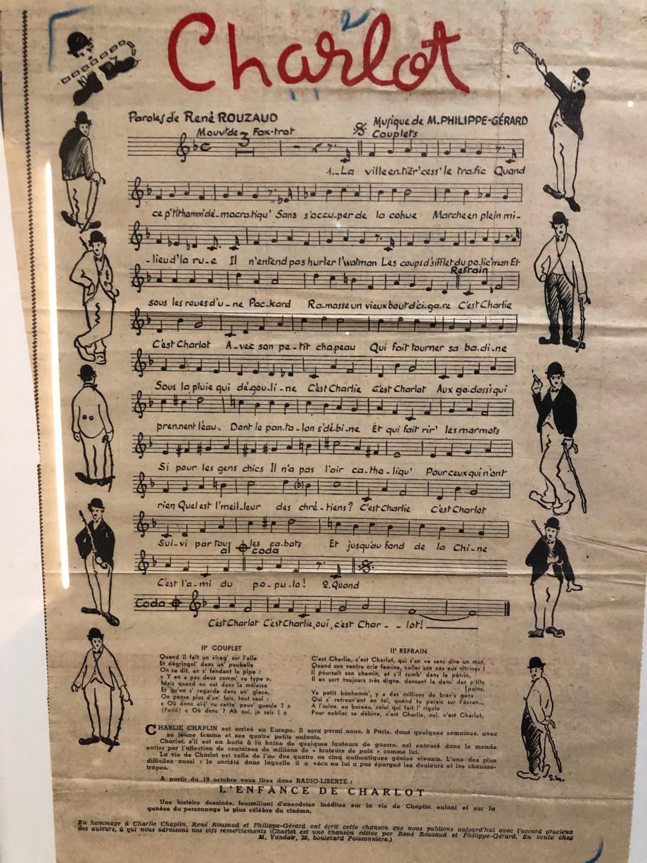 Charlot, chanson de 1952