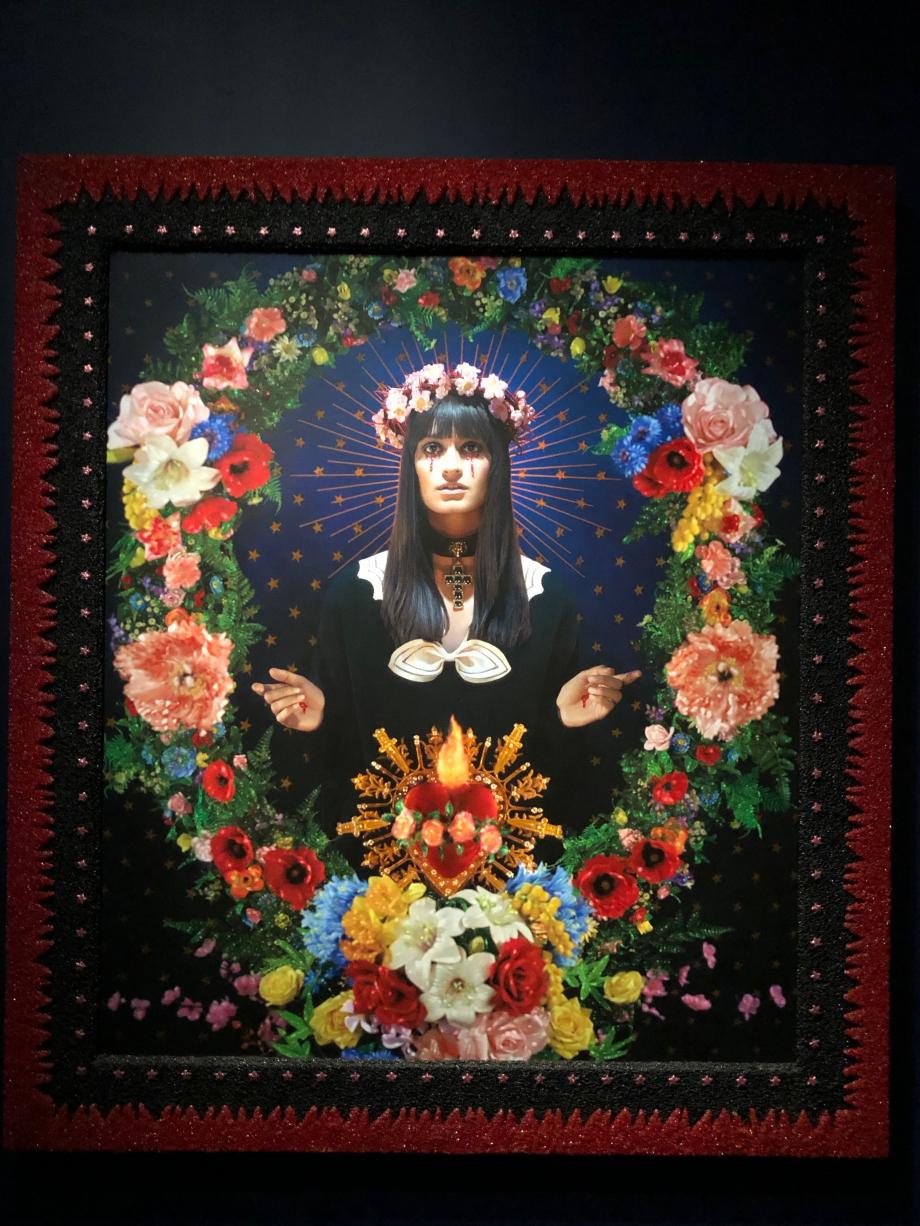 Clara Luciani J'adore ce tableau, mon préféré de l'expo
