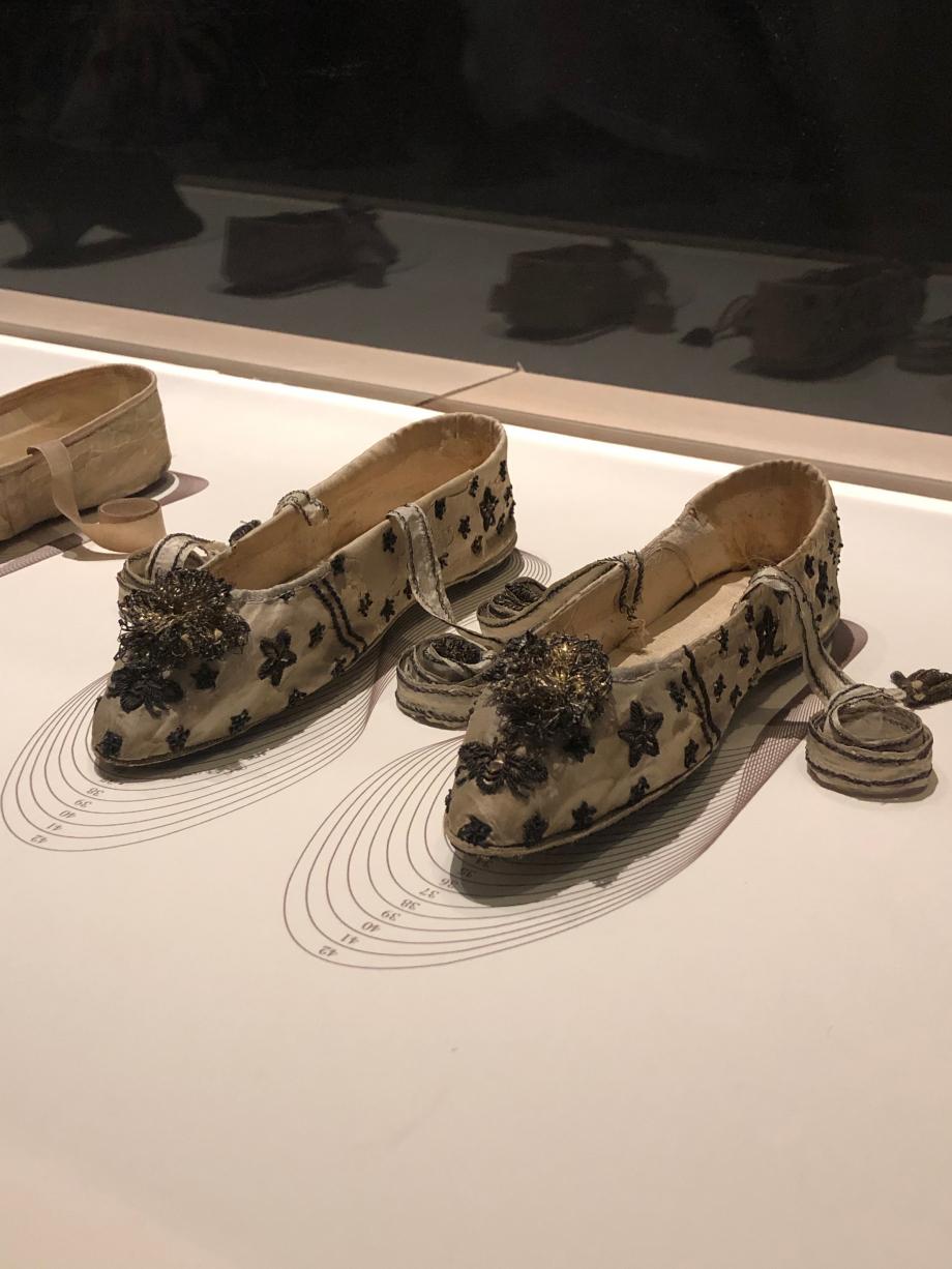 Modèle pour une paire d'escarpins pour l'impératrice Joséphine ou pour l'Impératrice Marie Louise