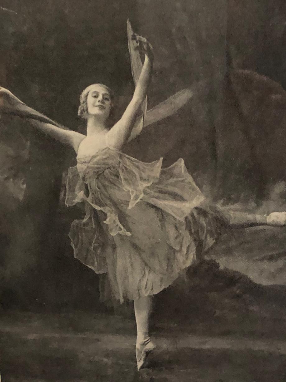 Anna Pavlova dans La Libellule, 1927 Paris, Musée des Arts Décoratifs