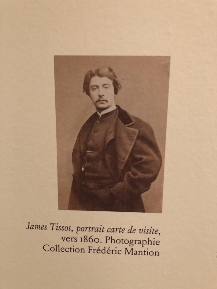 James Tissot, portrait carte de visite vers 1860