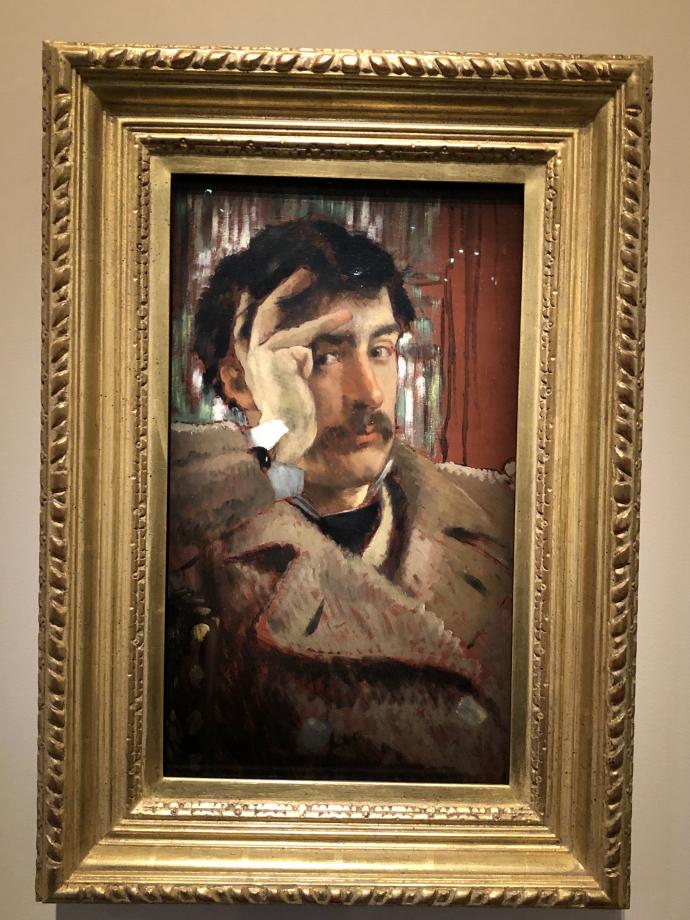 Autoportrait vers 1865 San Francisco, Fine Arts Museums