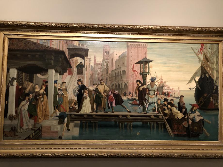 Départ dit aussi départ de l'enfant prodigue 1863 Petit-Palais, Musée des Beaux-Arts de la ville de Paris