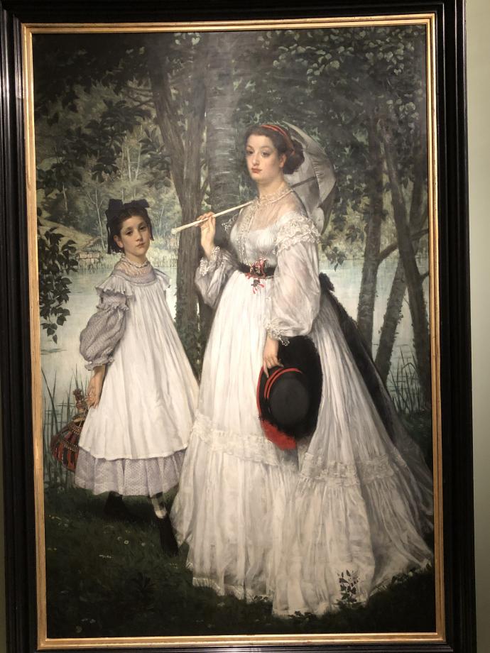 Les deux soeurs ; portrait 1863 Paris, Musée d'Orsay