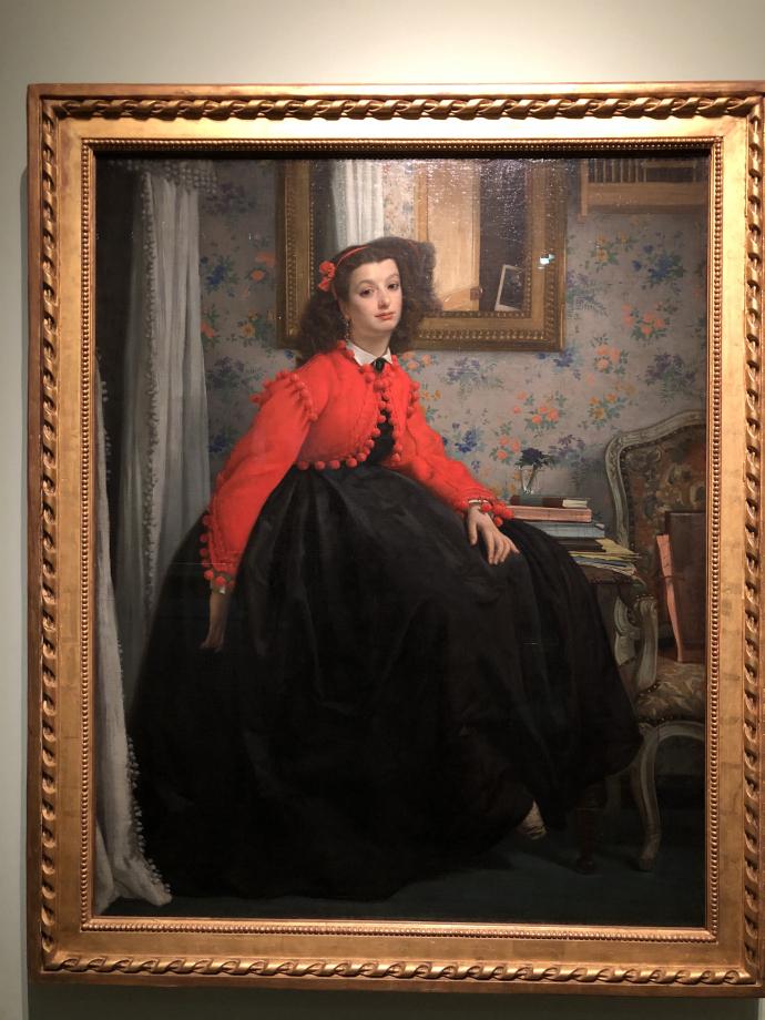 Portrait de Mlle L. L... 1864 Paris, Musée d'Orsay