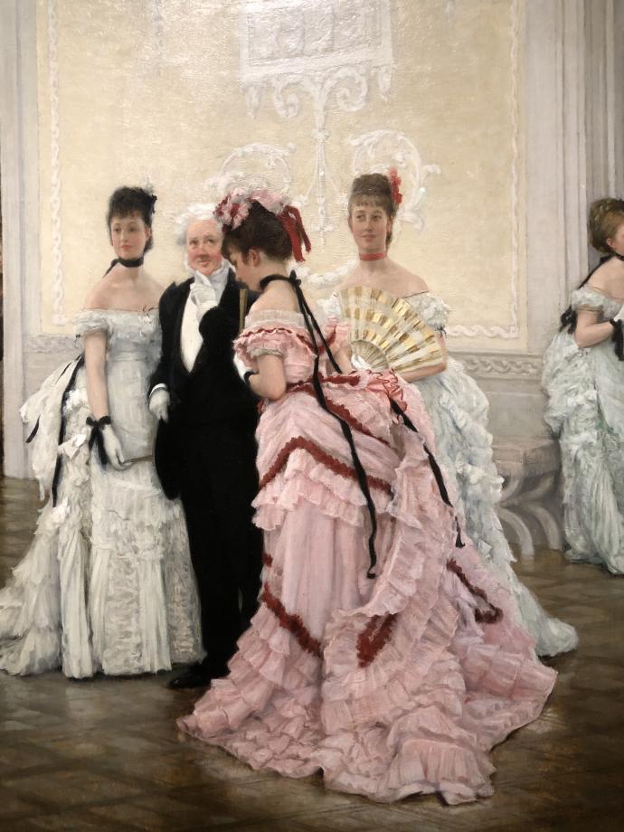 détail du tableau Robes magnifiques