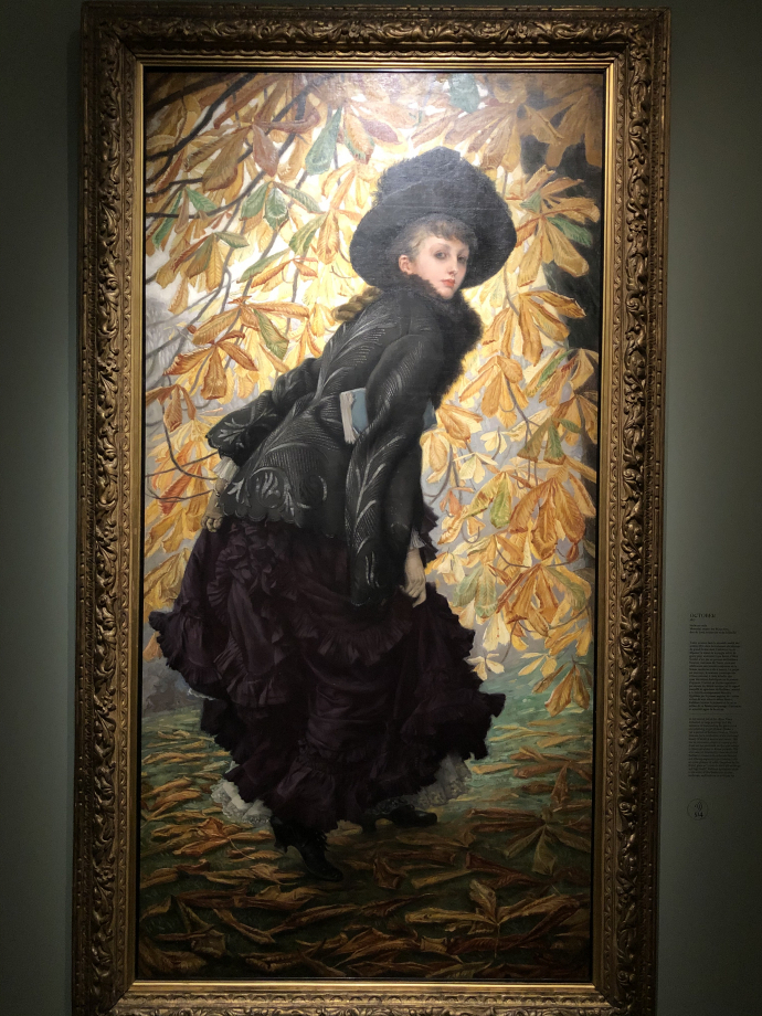 October 1877 Montreal, Musée des Beaux-Arts  Le modèle est Kathleen Newton, maîtresse de Tissot.