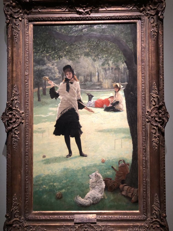 Croquet 1878 Art Gallery of Hamilton