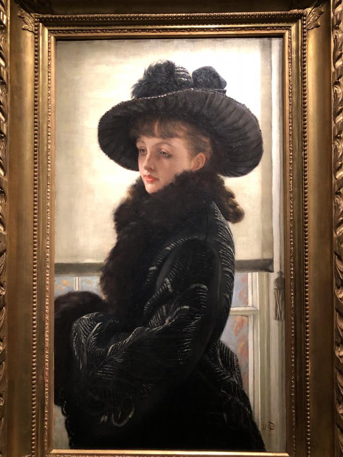 A portrait dit aussi Mavourneen 1877 Collection particulière
