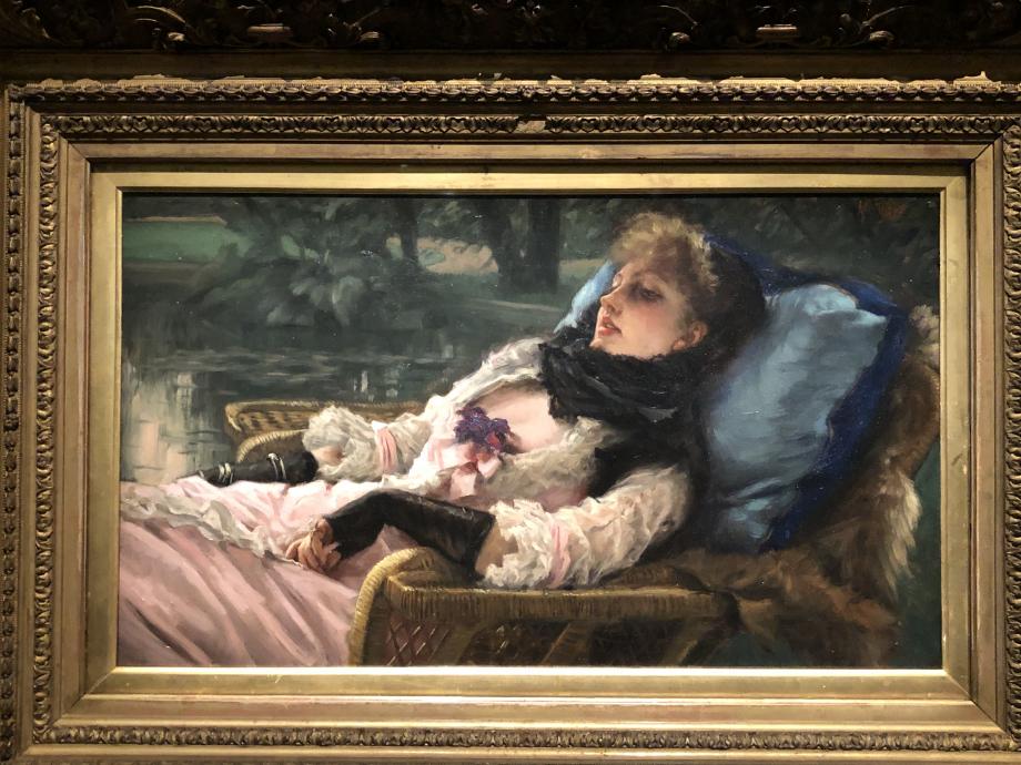 Summer evening dit aussi la rêveuse 1882 Paris, Musée d'Orsay