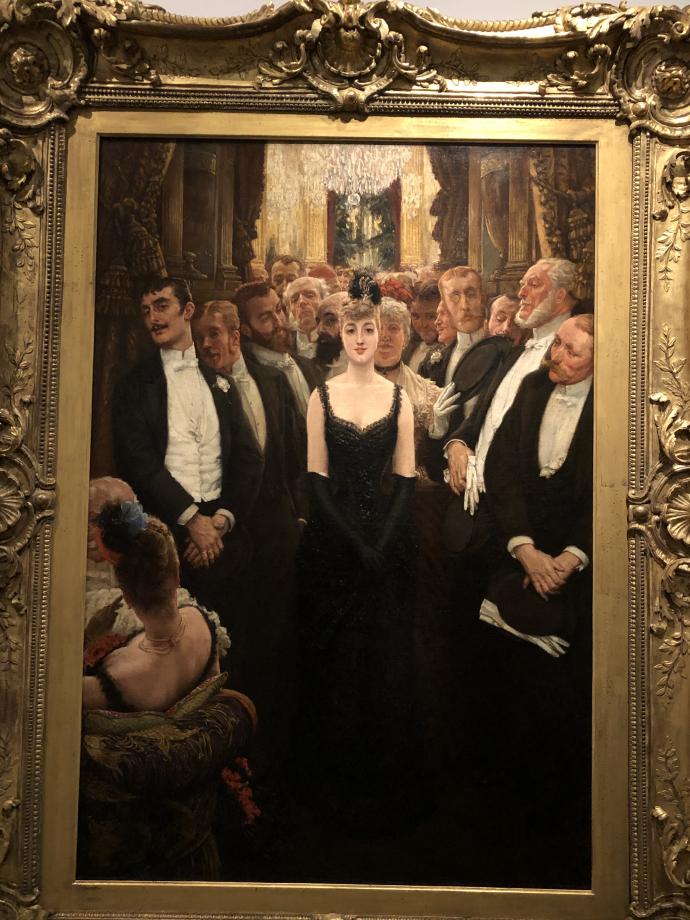La plus jolie femme de Paris vers 1883 1885 Genève, musée d'Art et d'Histoire