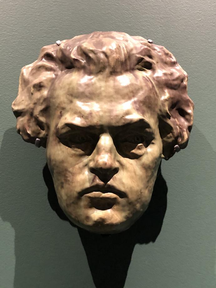 Masque de Hansen Jacobsen vers 1896-1903