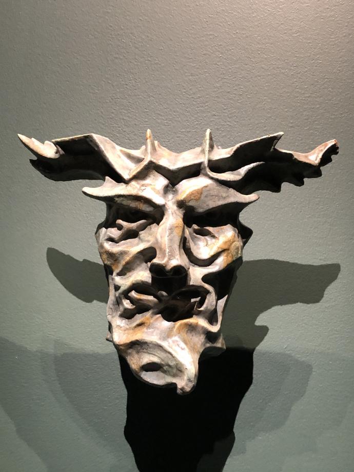 Masque de l'Automne vers 1896-1903