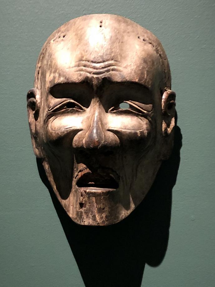 Anonyme Masque Nô 1650-1750