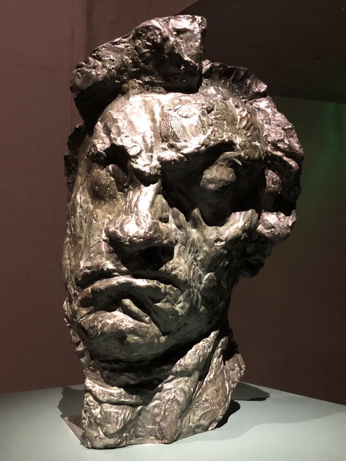 Antoine Bourdelle Grand masque tragique de Beethoven 1901